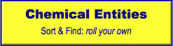Find Chemical Entity, roll your own